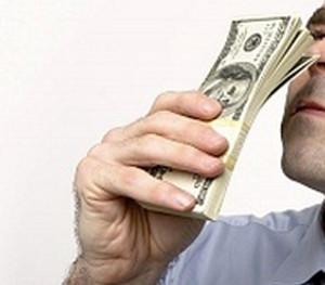 olor del dinero