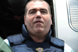 Suspected Venezuelan drug lord Walid Makled arrives at Venezuela airport after being extradited from Colombia in Caracas
