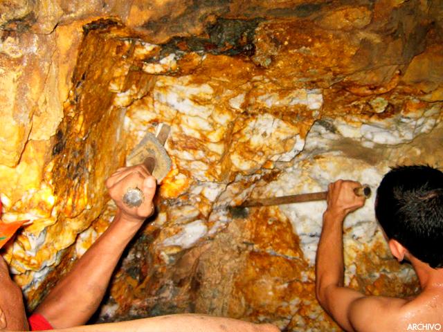 Entre el 80 y el 90 de la producci n de oro en venezuela for De donde se saca el marmol