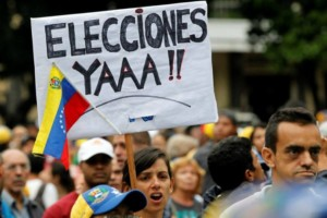 Salida electoral sin presos políticos