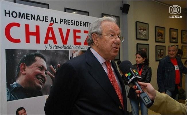 Raúl-Modoro-fue-uno-de-los-embajadores-mas-cercanos- a-Hugo-Chávez
