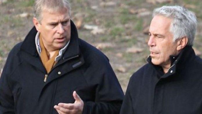 El principe Andrés y Jeffrey Epstein